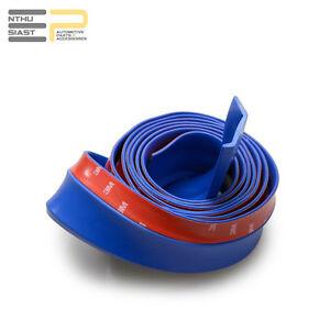 Universal Front Spoiler Gummi Lippe 2 5 M Selbstklebend Blau Ebay