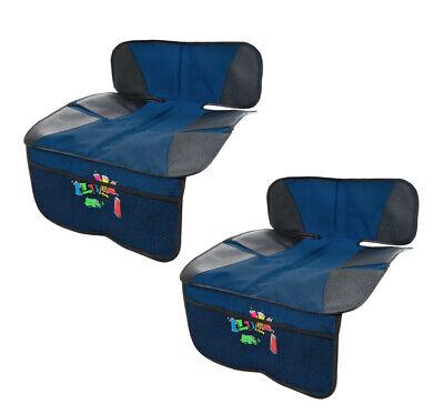 Aktiv Kindersitzunterlage In Doppelpack Autositzschutz Kindersitz Unterlage Blau