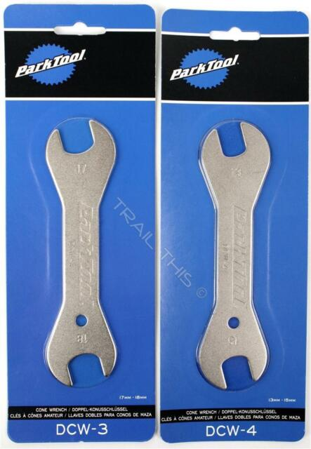 Park Tool Dcw-3 Double-ended Cone Wrench 17 and 18mm for sale online