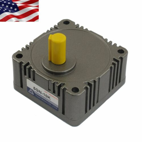 US Metal Tooth Gear Head Box 5GN 10:1 Speed Reducer Ratio For AC//DC Gear Motor