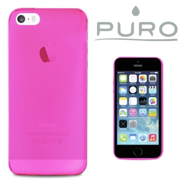 COVER CUSTODIA 0.3 ORIGINALE PURO® QUALITÀ SUPERIORE PER APPLE IPHONE SE/5S/5