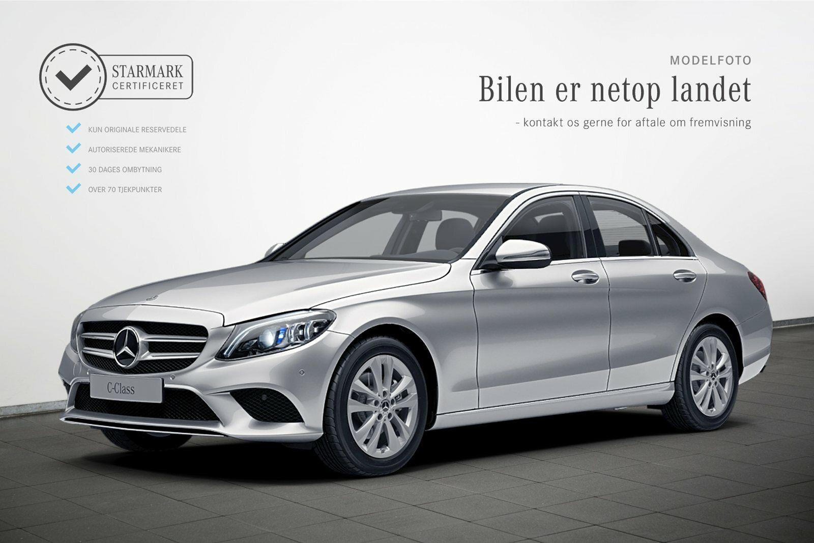 Mercedes C220 d 2,0 Avantgarde aut. 4d - 474.900 kr.