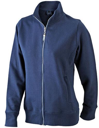 James /& Nicholson Damen Sweat Jacke Übergangsjacke Ladies Sweat Jacke Hoodie