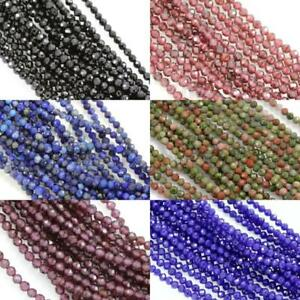 Size-2mm-Faceted-Round-Semi-precious-Gemstone-Spacer-Beads-for-Jewellery-Making