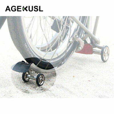 Bicycle Single Mudguard Fender Easy Wheel Rollers Auxiliary wheel for Brompton