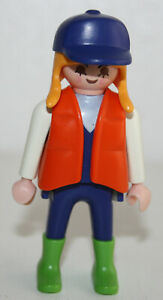 PLAYMOBIL-3634-PERSONNAGE-FEMME-VISITEURS-ZOO-MAMAN-BATCH-ANIMAL-SHELTER