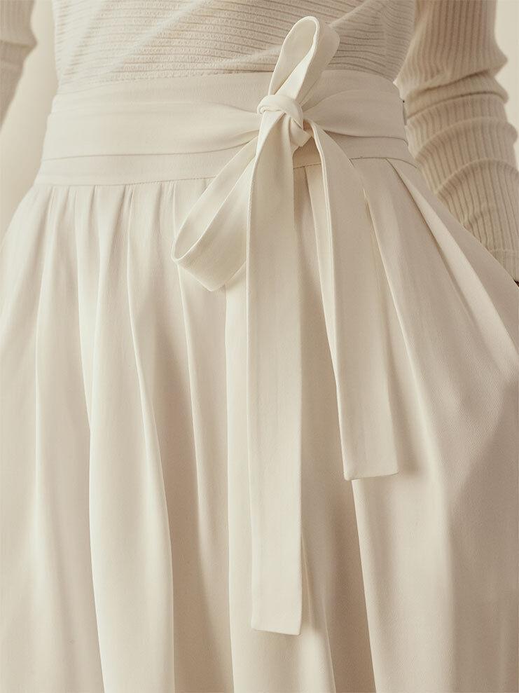 NWT Club Monaco Bernadine Midi Skirt, White, Sz 6,   229