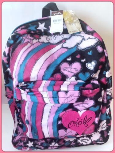 Rainbow Hearts $38 NWT O/'NEILL Women's Going Steady Backpack