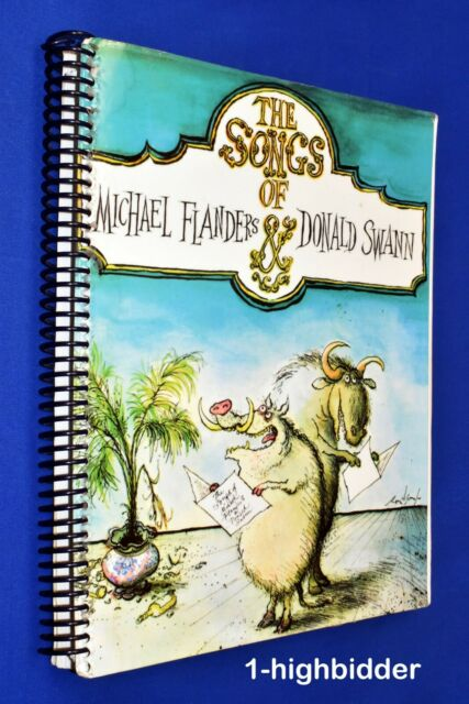 THE SONGS OF FLANDERS & SWANN Music COMEDY SONGS Wit HUMOR Funny Stuff