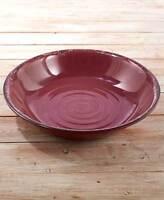 Rustic Melamine Dinnerware Oversized Serving Bowl Plum 125 Oz Large Bowl