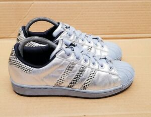 RARE ADIDAS SUPERSTAR CLR SOLE TRAINERS WHITE IN SIZE 5 UK DEADSTOCK EXCELLENT
