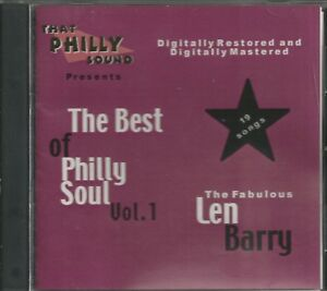 THE-BEST-OF-PHILLY-SOUL-CD-Vol-1-LEN-BARRY-BRAND-NEW
