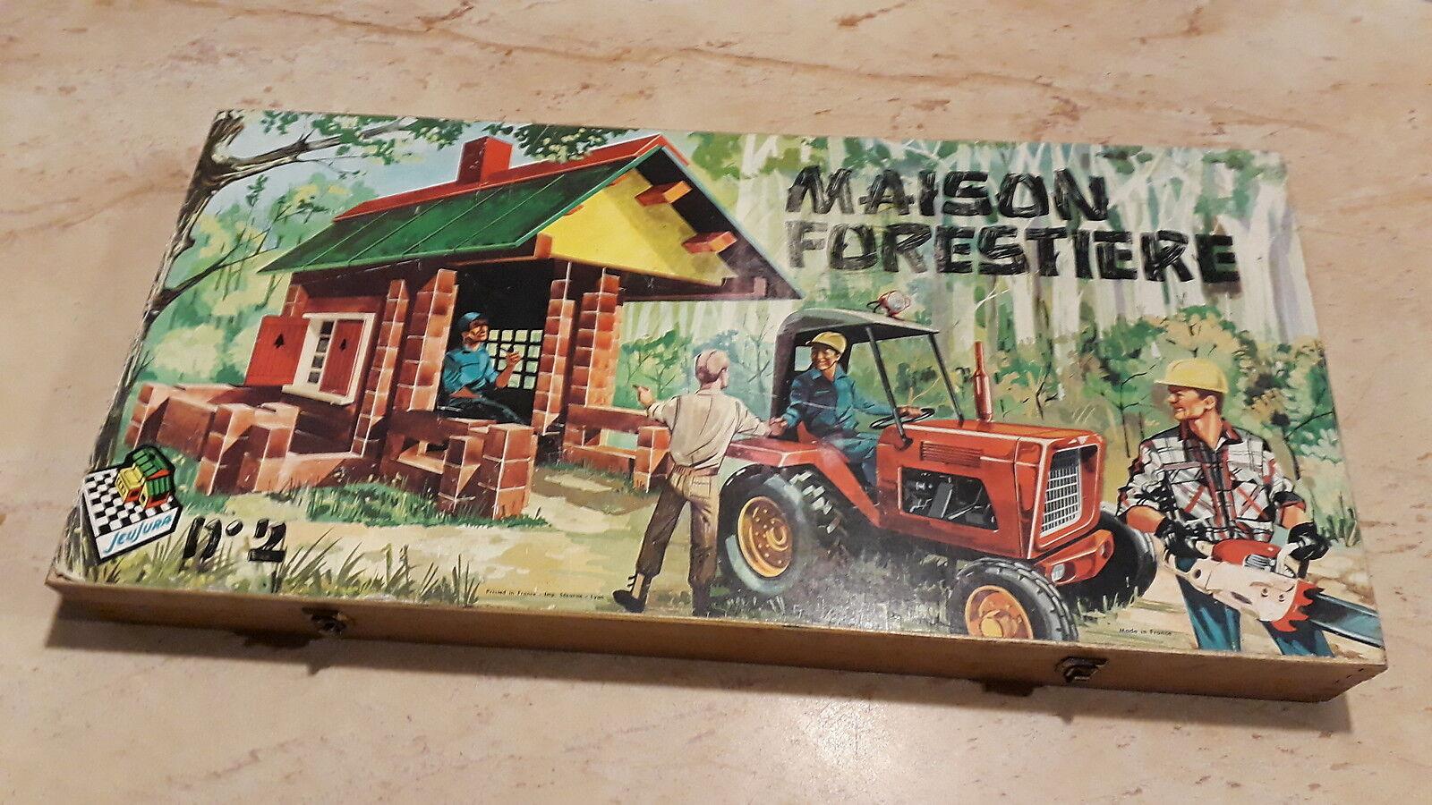 JEUJURA coffret n°2 -  Maison forestière