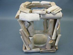 Holz-Laterne-Teelichthalter-aus-Schwemmholz-19-cm-mit-Glaseinsatz-fuer-Teelicht