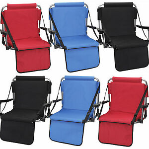 Image is loading 6-Barton-Outdoors-Stadium-Chairs-w-Armrests-&-  sc 1 st  eBay & 6 Barton Outdoors™ Stadium Chairs w/ Armrests u0026 Back - Bleacher Seat ...