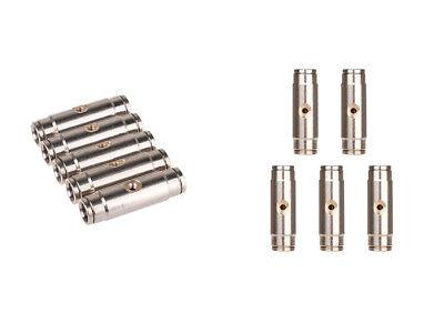 """10pc 3//8 /"""" Slip-Lok Tee+3//8 /"""" 1000PSI Brass Nozzles Fr Low Pressure Mist Cool ST"""