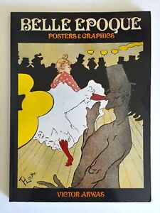 034-BELLE-EPOQUE-POSTERS-amp-GRAPHICS-034-RARE-1ST-EDTN-VTG-1978-COLLECTOR-039-S-ART-BOOK