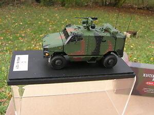 Maître combattant 1/48 militaire 4x4 Aravis Nexter / giat 12.7 3tons Otan Ref48516vc