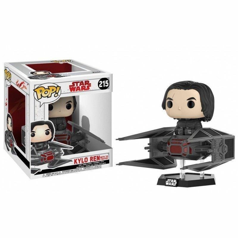Funko Pop  Star Wars Kylo Ren with Tie Fighter Figurine  215