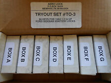 FORD  Lock TRYOUT key set # TO-3  Locksmith Key Lock Set