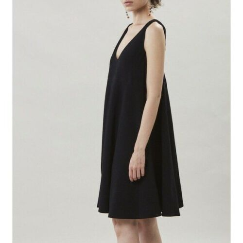 Rachel Comey   Black Oversized Trapeze Dress