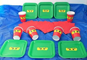 Lego Ninjago Children39s Birthday Party Tableware Pack Set  sc 1 st  Castrophotos & Lego Friends Paper Plates - Castrophotos