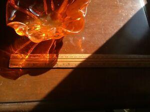 Orange-glass-bowl