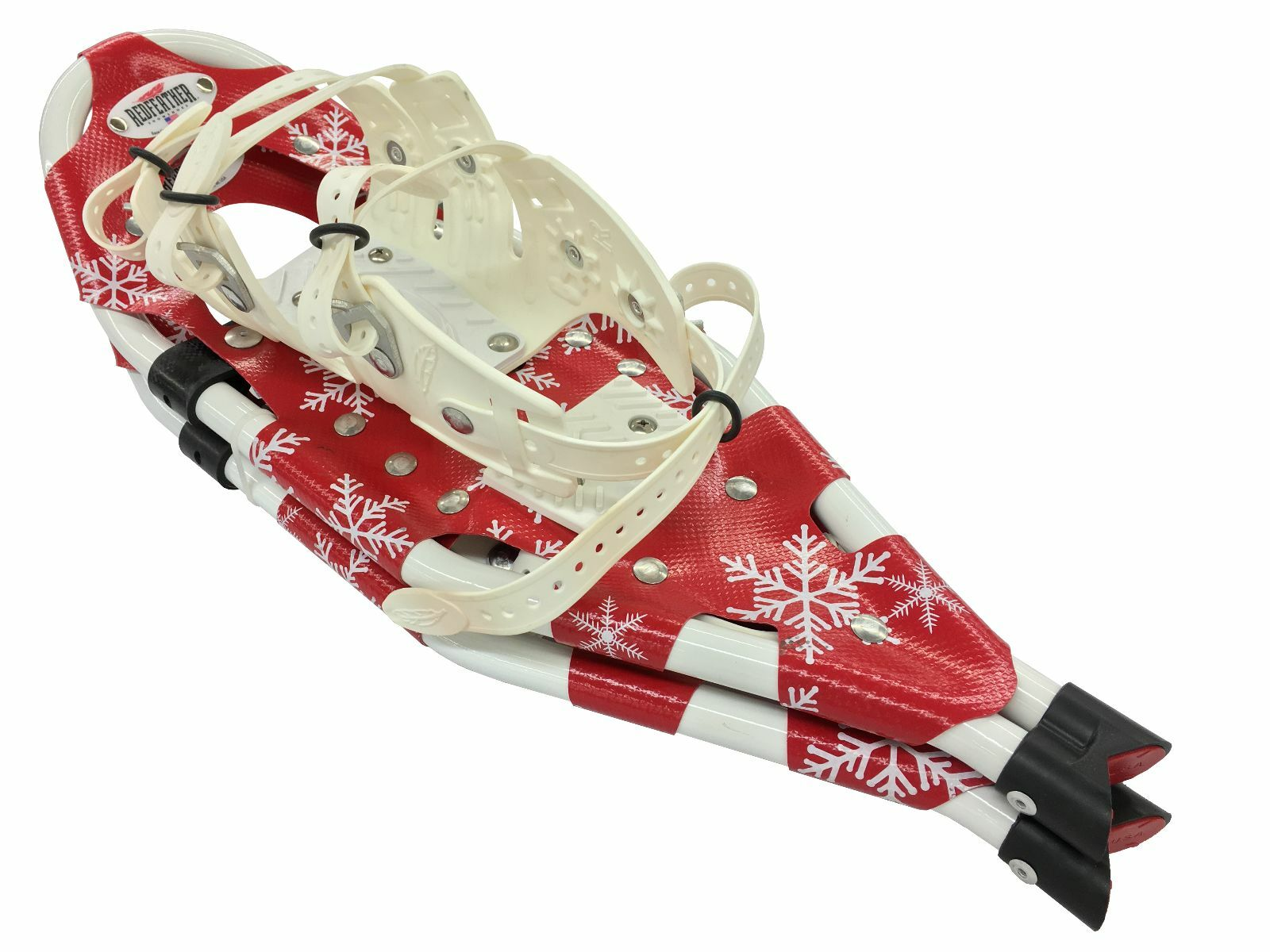 Redfeather V-Tail 22  Snowshoes Made in the USA Dasher Special Holiday Edition