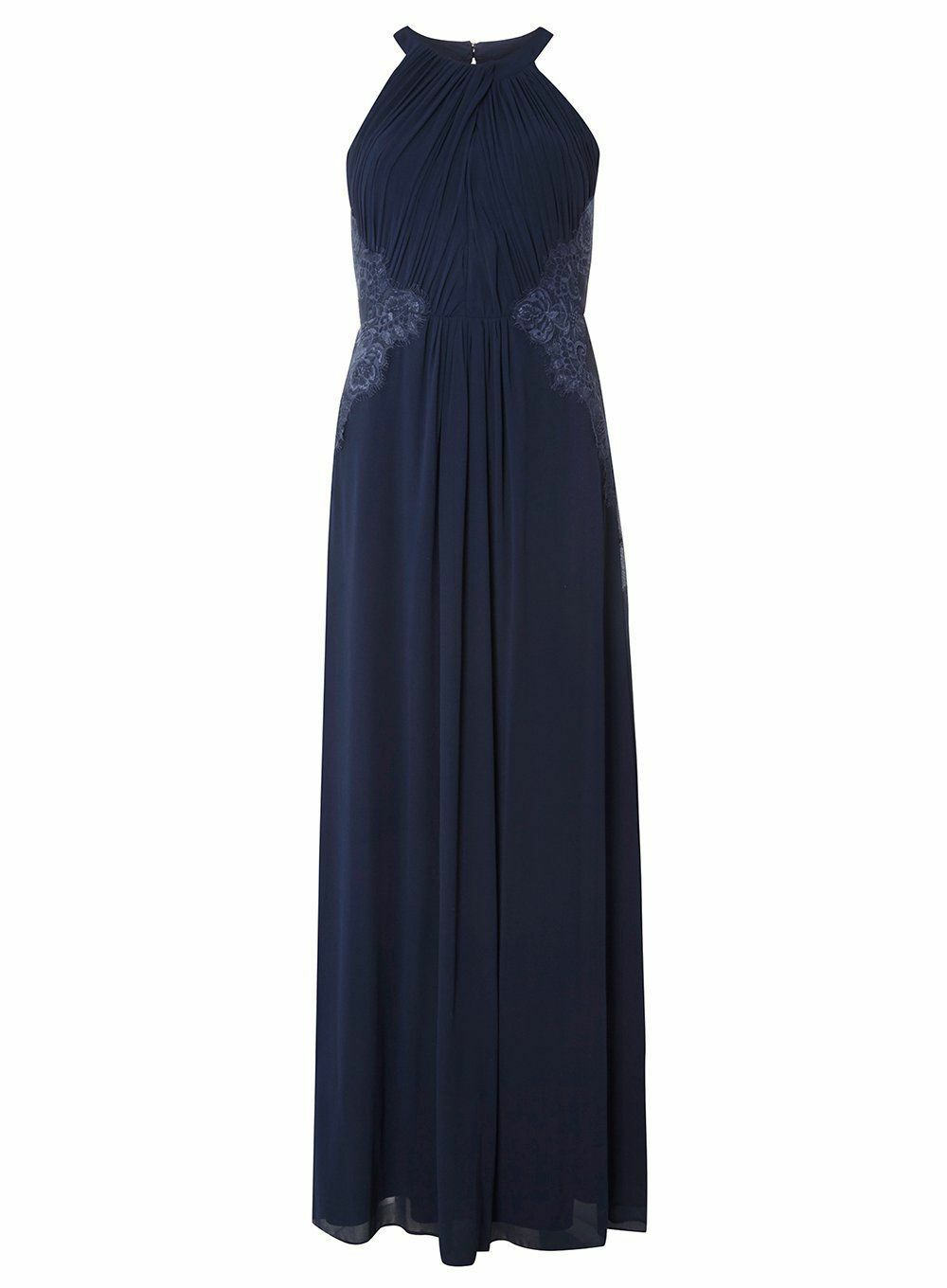 Dgoldthy Perkins Showcase Elizabeth Maxi Dress Navy Size DH181 GG 17