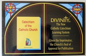 Divinity-The-New-Catholic-Catechism-Learning-System-Bible-Study-Board-Game-Rare
