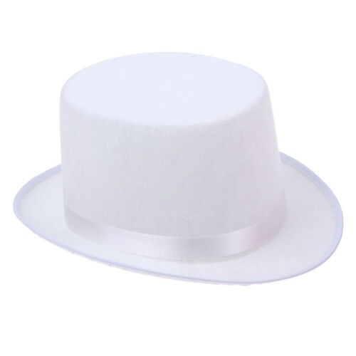 1Pc Deluxe Top Hat Magician Costume Mat Hatter Wedding Christmas Party Form MF