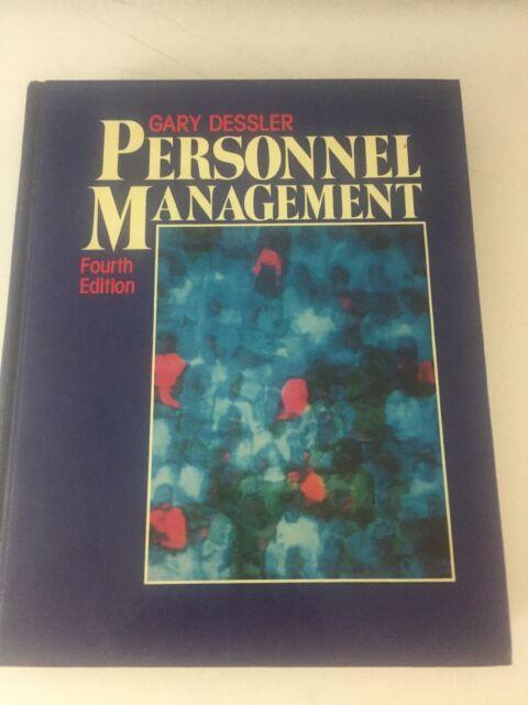 Personnel Management - Gary Dessler (1988, Hardcover, 4th Edition)
