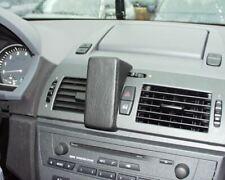 Schwarz 1995-2004 Kunstleder Bj 5er Haweko Telefonkonsole fuer BMW E39