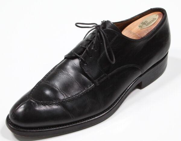 2019 úLtimo DiseñO *franceshetti* Negro Abierto Punta Cuero Con Cordones Italia Zapatos Oxford