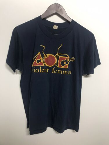 vintage violent femmes shirt 84 Screen Stars Hallo