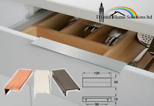 Polished Nickel Finish Kitchen Drawer Cabinet Door Knob HAFELE RIO Pull Handle