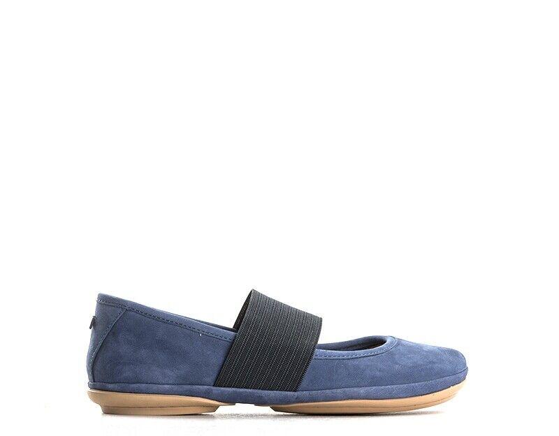 Schuhe CAMPER Frau Blau Nabuk 21595-090