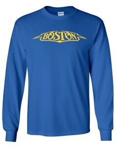8c479b6d Image is loading Boston-LONG-SLEEVE-T-Shirt-Classic-Rock-Band