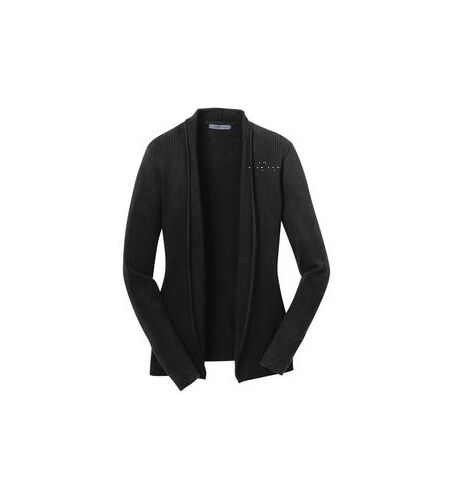 Carver Yachts Womens Open Front Cardigan