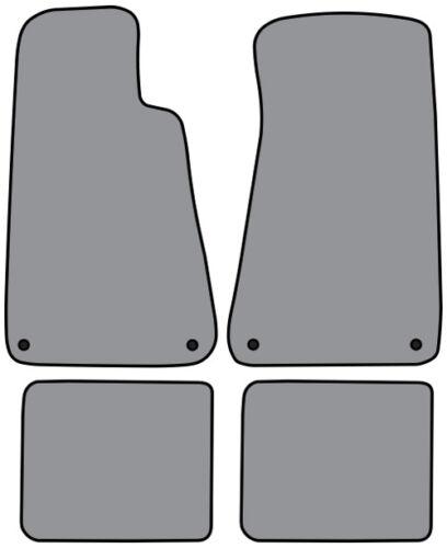 1994-1996 Chevrolet Caprice Cutpile Carpet Logo Floor Mat with Snaps 4pc