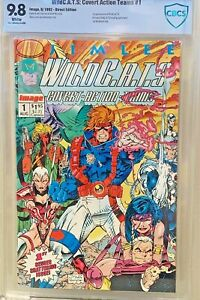 WildC-A-T-S-1-9-8-1st-GRIFTER-amp-Wildcats-IMAGE-WILDSTORM-JIM-LEE-HOMAGE-CGC-lt-CBCS
