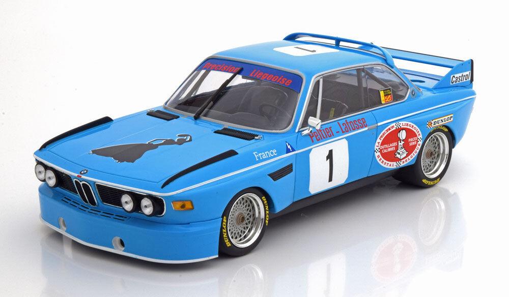 Minichamps BMW 3.0 CSL Winner 4h Monza 1974 Peltier Lafosse  18 LE300 New