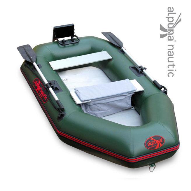 ALPUNA nautic IBA 285 Schlauchboot Anyellowoot Ruderboot green