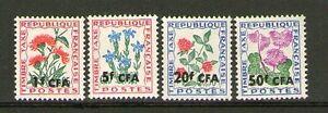 LA-REUNION-THEME-FLEURS-4-SUPERBES-TIMBRES-TAXES-NEUFS-XX-COTE-3-EUROS
