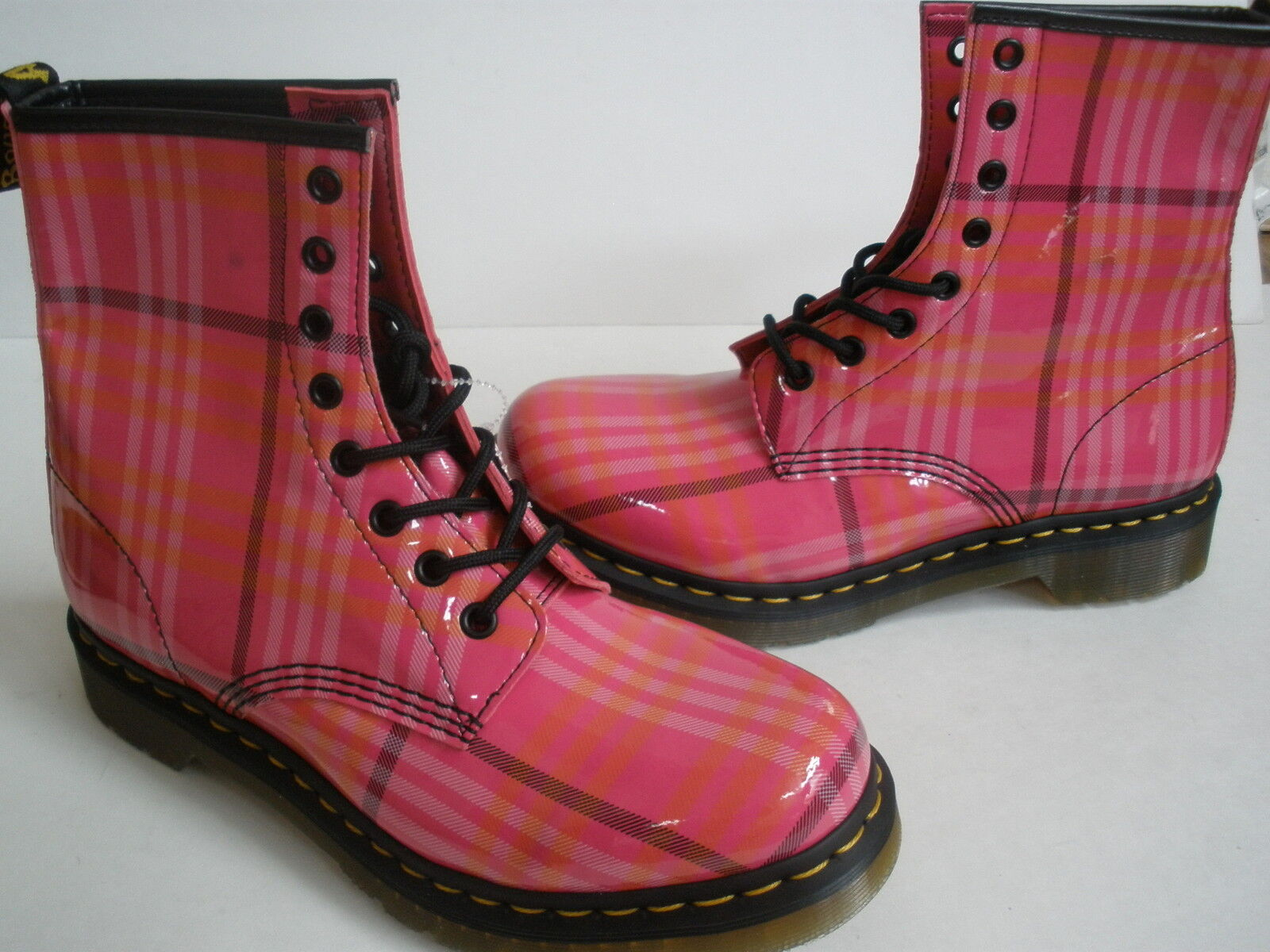DR.MARTENS SYNTHETIC LEATHER BOOTS US 10 NEW