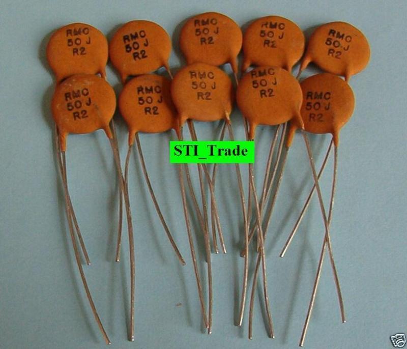 50 pcs Disc Capacitors 56 PF-Article fx09