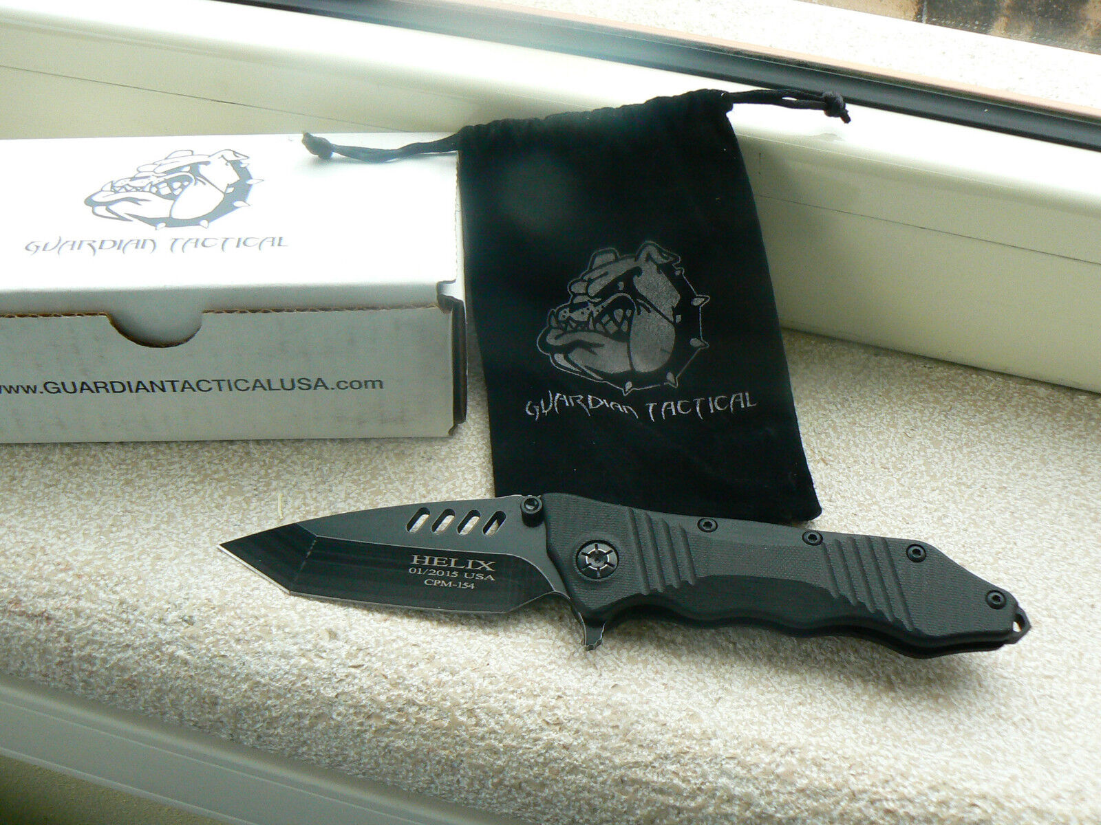 Coltello Guardian Tactical GT31621 Helix Combat Folder Knife Messer Couteau
