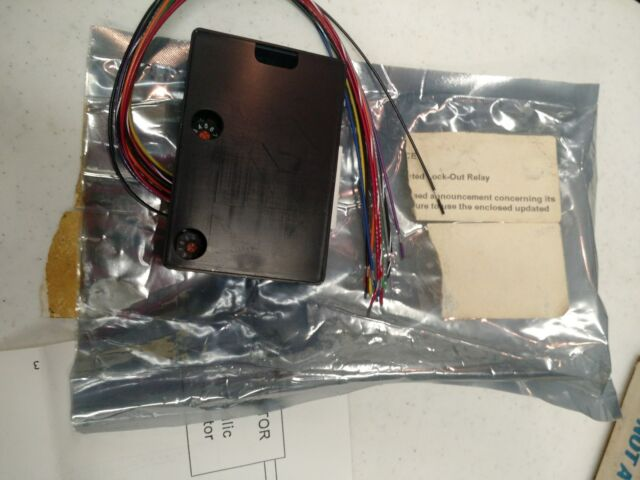 BeA LO21 Lock-out Relay Module Lo-21
