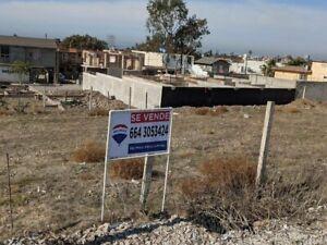 Terreno residencial en Venta Colonia Costitución Playas de Rosarito Baja California