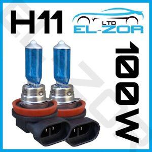 2-X-H11-711-100W-faros-de-xenon-Super-Brillante-Blanco-Frontal-Niebla-Drl-Bombillas-Lampara-12V